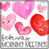 February Morning Meetings - Distance Learning - Online Learning