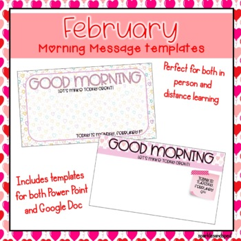 February Morning Message bundle