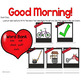 February Morning Messages Projectable and Editable