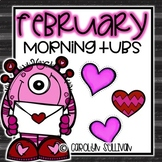 February Morning Tubs for Kindergarten