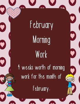 February Morning Work