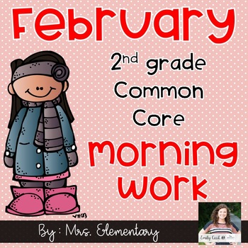 2nd Grade Common Core February Morning Work
