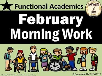 February Morning Work - Functional Academics