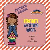 February Morning Work: Fourth Grade