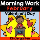February Morning Work {Kindergarten}
