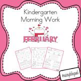 February Morning Work (Kindergarten) *FREE SAMPLE*