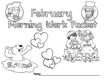 February Morning Work Packet