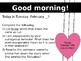 February Morning Powerpoint (Full)