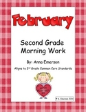 February Morning Work Second Grade Common Core Standards