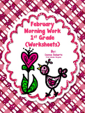 February Morning Work Worksheets