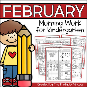 photograph regarding The Printable Princess named February Early morning Energy for Kindergarten