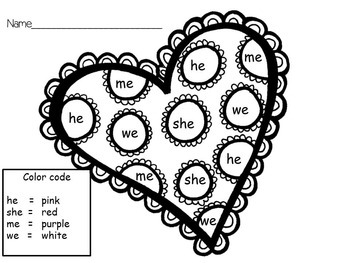 February Morning Work for Pre-K and K by Fun to Learn | TpT