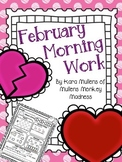 February Morning Work