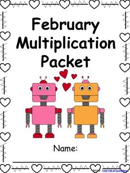 February Multiplication Packet {Just Print & Go!}