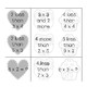 February Multiplication and Division Facts Calendar Activity