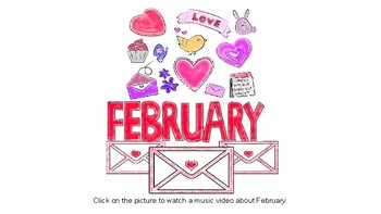 February Music Videos and Stories for your Elementary Classroom
