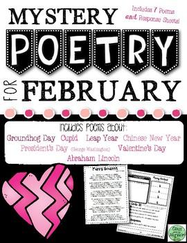 February Mystery Poetry Set