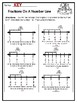 February NO PREP Math Third Grade| Division Fractions Valentines Presidents Day