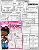 February NO PREP Math and Literacy (3rd Grade)