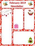 February Newsletter Valentines Day