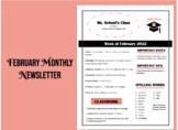February Newsletter Layout