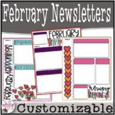 February Newsletters (Customizable)