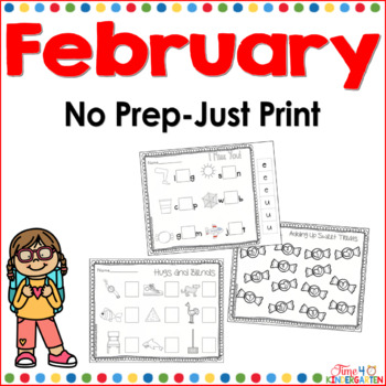 February No Prep Just Print