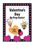 Valentine's NO PREP Packet (Kinder)