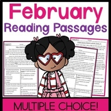 February Non-Fiction Multiple Choice Reading Passages
