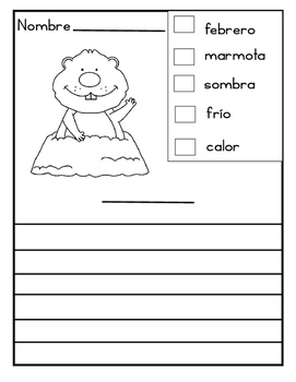 February Non-Fiction Reading and Writing in English and Spanish *First Grade*