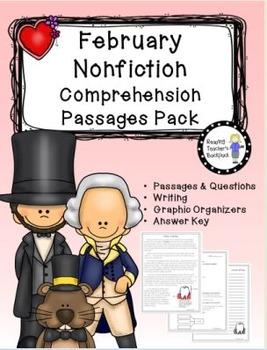 February Nonfiction Passages