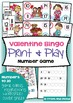 February Number Games Packet