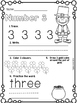 March Number Printables