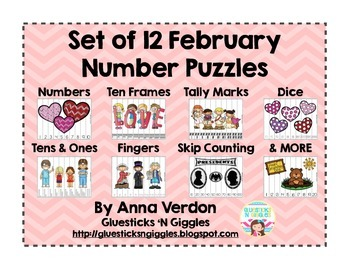 February Number Puzzles