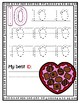 February Number Writing to 10--Dry Erase Handwriting Cards for Your PK-1 Class