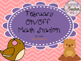February On/Off Addition Game