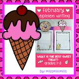 Opinion Writing Craftivity: The Best Sweet Treat!