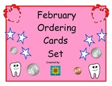February Ordering Cards Set