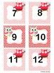 February Owl Calendar Cards and Headers