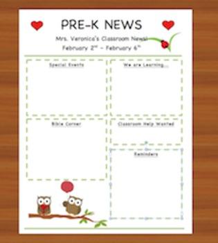February Owl Newsletter