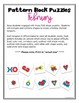 February Pattern Block Puzzles