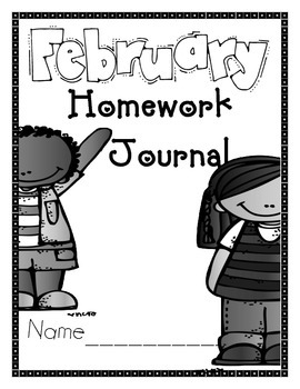 February People Journal Cover, Newsletter, and Phonics Choices