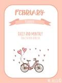 February Personal / Teacher Planner - Valentine's Day