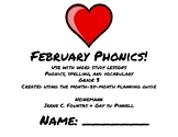 February Phonics/Word Study Heinemann (Fountas and Pinnell