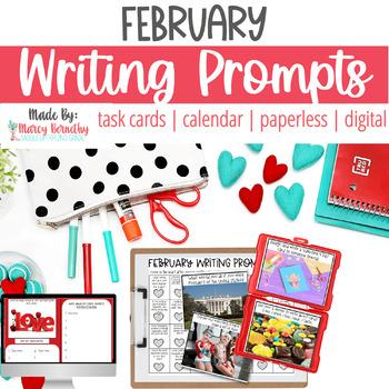 February Photo Writing Prompts