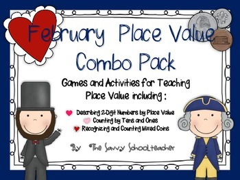 February Place Value Combo Pack