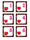 February Pocket Calendar Cards