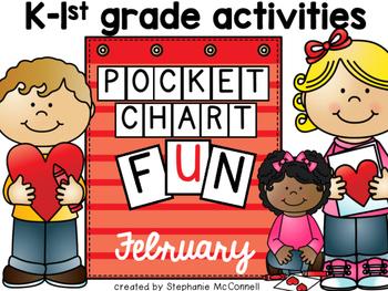 February Pocket Chart Activities