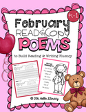 February Poems for Building Reading Fluency & Writing Stamina (K-1)
