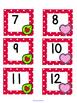 February Polka Dot Calendar Set